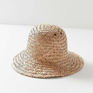 Urban Outfitters Accessories - Urban Outfitters Brixton Kennedy Straw  Bucket Hat 4e3ef3b325d